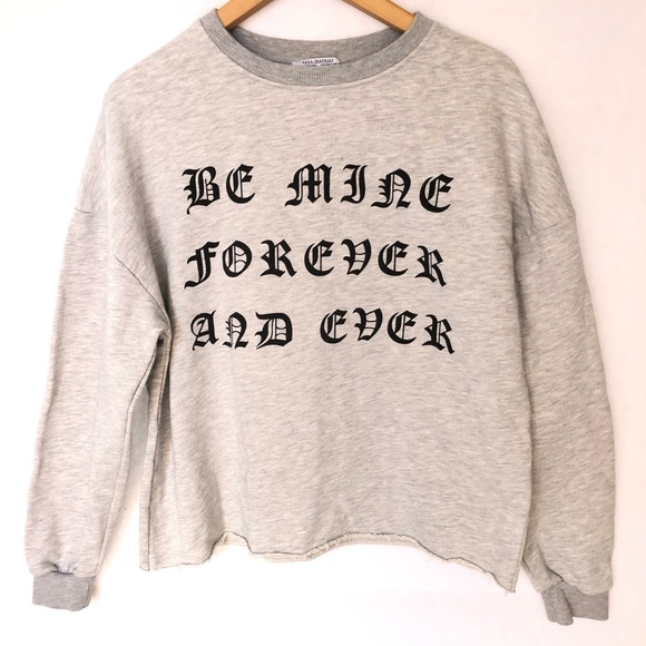 376d90d9 Zara Sweaters | Trafaluc Be Mine Forever And Ever Sweater S | Poshmark